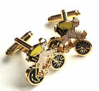 Cycling Tour De France Enamel Crested Cufflinks