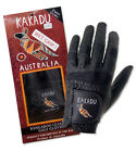 Black Kangaroo Leather Golf Glove - Ultra Thin, Ultra Strong, Ultimate Grip