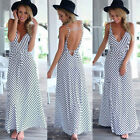 New Sexy Womens Maxi Boho Dress Summer Long Skirt Evening Cocktail Party Dresses