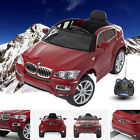 Bmw X6 Official Licensed Ride On Car 12V Electric Parental Remote Control - MP3