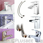 Modern Chrome Square Mono Mixer Monobloc Sink Waterfall Tap For Kitchen Bathroom