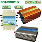 Solar Power Pure Sine Wave Inverter 12/24V to 110/220V for Solar Panel Systems