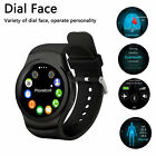 Bluetooth Smart Watch Phone Mate GSM G-sensor SIM Card CE For iPhone IOS Android
