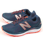 New Balance W720RG3 D Deep Blue & Orange & Silver & White Running Shoes 2016 NB