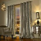 KYLIE MINOGUE ILIANA PRALINE LINED VELVET RING TOP CURTAINS DRAPES *5 SIZES*