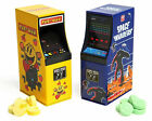 Space Invaders and Pac Man Arcade Machine Candy Tins!