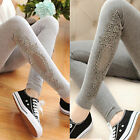 Fashion Women Sexy Lace Stretchy Skinny Cotton High Waist Leggings Pants Trouser