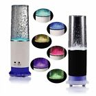 USB Touch Sensitive Light LED Colourful Water Drop Table Lamp With Mini Speaker
