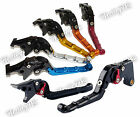 CNC Aluminium Folding Brake Clutch Levers For 2014-2016 YAMAHA YZF-R125 MT-125
