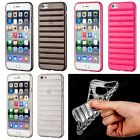 "Case iphone 6 / iphone 6S mit 4,7"", Gel stripes cover backcover Hülle Etui"