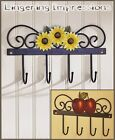 Country Rustic Style Kitchen Utensils Potholder APPLE Fruits Wall Hook Decor