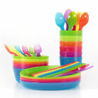 IKEA Kalas Baby / Children's Plastic Party Sets of Cutlery, Cups, Plates, Bowls