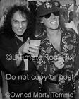RONNIE JAMES PHOTO DIO KLAUS MEINE Backstage Photo in 1991 by Marty Temme