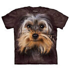 Adult Mens The Mountain Brand Yorkshire Terrier Animal Dog Lover Fashion T-Shirt