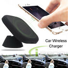 Qi Wireless Car Charger Charging Pad Mount Holder for Samsung Galaxy S7 /S7 Edge
