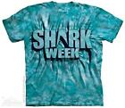 AQUA SHARK WEEK ADULT T-SHIRT THE MOUNTAIN SHARK WEEK