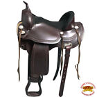 "TTGS107 HILASON GAITED WESTERN TRAIL PLEASURE ENDURANCE SADDLE 15"" 16"" 17"" 18"""