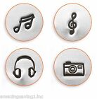 ImpressArt  - Music & Art Craft Design Metal Stamps, 6mm  (Select Stamp)