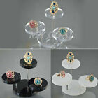 New Necklace Bracelet Watch Round Table Holder Display Stand Case Jewellery Gift