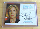 TV Show Psych ~  Kirsten Nelson as Chief Karen Vick Autographed Trading Card