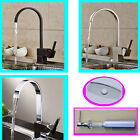 Kitchen Faucet Swivel Spout Single Handle Sink Mixer Tap Deck Mounted
