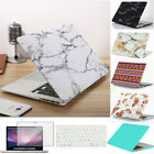 Marble Matt Hard Case Shell Keyboard Cover for Macbook Pro 13 15 Air 11 13inch