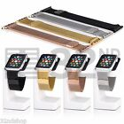Magnetic Milanese Replacement Wrist Watch Strap For Apple Watch 38mm & 42mm