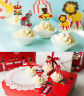 London / Circus Carnival Cupcake Topper w Liners Party Decoration Set Pack of 95