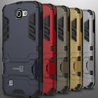 Slim Protective Hybrid Armor Kickstand Phone Cover Case for LG Optimus Zone 3