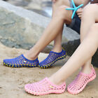 Men & Women's Breathable Slippers Hollow out Beach Sandals Garden Hole Shoes