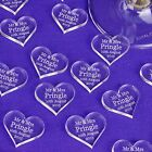 Personalised Love Heart Wedding Decorations Favours Gift Mr & Mrs Table Confetti