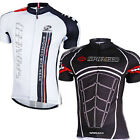Men Road Racing Cycling Bike Short Sleeve Clothing Quick Dry Bicycle Jersey Top
