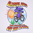 GRATEFUL DEAD-WHY DON'T WE DO IT...OFF THE ROAD-BEAR-BIKE-SHIRT M-L-XL-XXL RARE