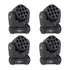 1 2 4PC 12x10W RGBW 4in1 LED Moving Head Light DMX DJ Disco Stage Lighting Top