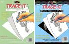 Trace-It Transfer Paper Gray or White 5 sheets - 8 1/2 x 11 fnt