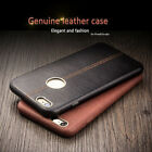 Luxury Authentic Genuine Leather Slim Back Cover Case For iPhone 6/S 7 Plus 5 SE