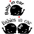 Babies / Baby in car decal car stickers FREE SHIPPING!!
