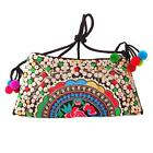 EthnicFabric Embroidered Style bags small shoulder messenger bag women Totebag