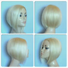 HIGH HEAT RESISTANT FIBRE SUPER COOL SHORT LADY WIG SKIN TOP PARTING T-011