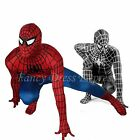 Cool Lycra Spiderman Fancy Dress Costume ~ All Sizes