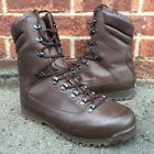 BRITISH ARMY ISSUE MTP COMBAT BOOTS KARRIMOR COLD WET WEATHER BROWN MENS 13 WIDE