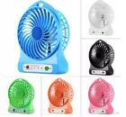 Rechargeable 3 SPEED Portable USB Battery Cooling Travel FAN with 18650 Battery