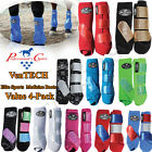 PROFESSIONAL CHOICE ELITE GLITTER SPORTS MEDICINE HORSE FRONT REAR BOOTS 4 PACK