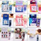 Mutil Styles Washi Tape Masking Sticker Scrapbook Gift Card DIY Craft Decor Tag