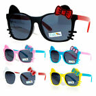 SA106 Kitten Whisker Child Size Girls Color Horn Rim Sunglasses
