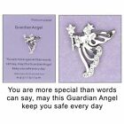 Equilibrium Guardian Angel Sentiment Lapel Pin Brooch - More Special 54482