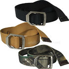 Carhartt Belt Mens Nylon Web Belt Metal Buckle 22500 Brown, Black, Camo Belts