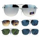 SA106 Air Force Mens Mirrored Rimless Aviator Sunglasses