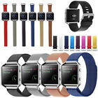 Leather/Stainless Steel/Silicone Replacement Band Strap For Fitbit Blaze Watch