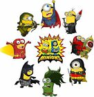 Minions despicable me Iron on t shirt  transfer Super Hero lot Marvel avengers